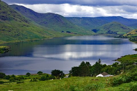 Lough Nafooey in Irland