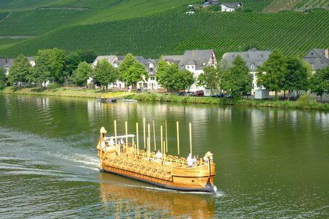 Mosel Neumagen-Dhron Römerweinschiff