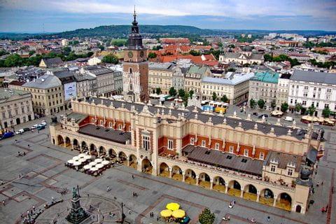 Stadtplatz Krakau