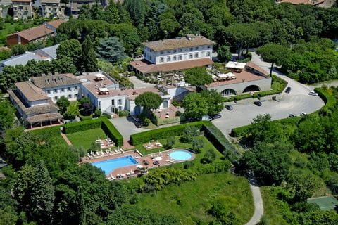 Aussenansicht Hotel Garden in Siena