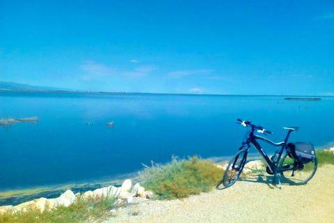 Fahrrad in einer Bucht