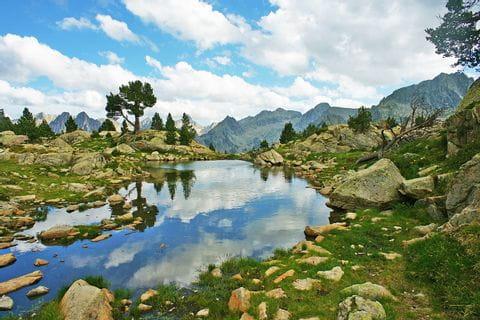 Einsame Wanderpfade im Nationalpark Aigüestortes