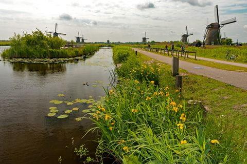 Radweg / Muehlen