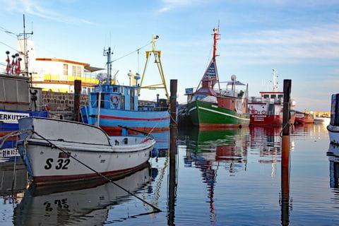 Fischerhafen in Rügen