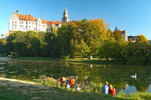 Radlerrast am Donauufer