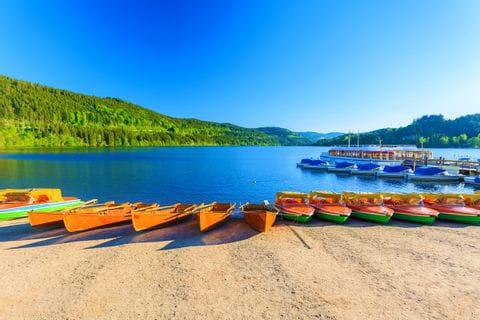 Boat trip at Lake Titisee