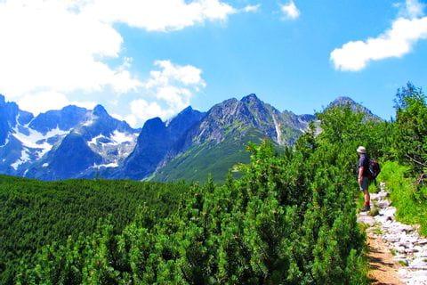 Gipfelblicke am kleinsten Hochgebirge der Welt