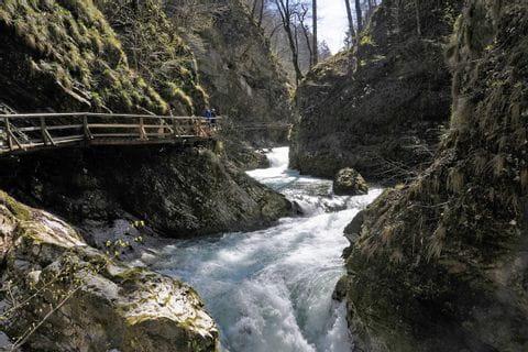 Wanderhighlight Wasserfall Savica
