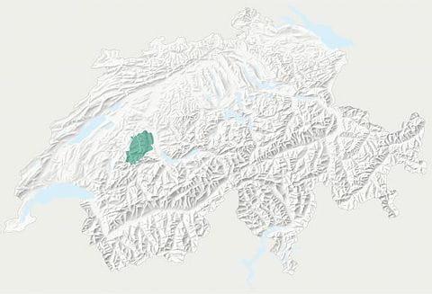 Karte Naturpark Gantrisch