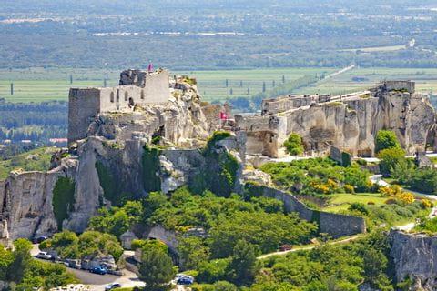 Ruine in Les Baux-de-Provence