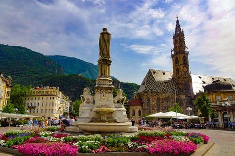 Laurin's Fountain in Bolzano