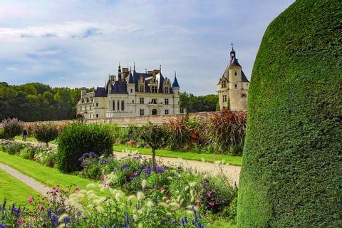 Schloss Chenonceaux in der Nähe der Loire
