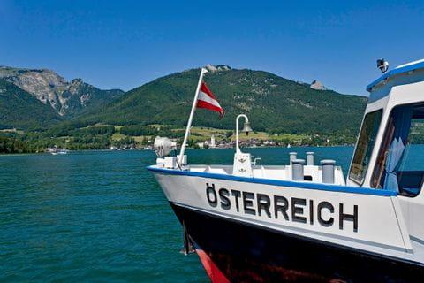 Schiff am Wolfgangsee