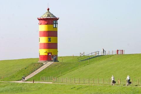 Leuchtturm in Ostfriesland