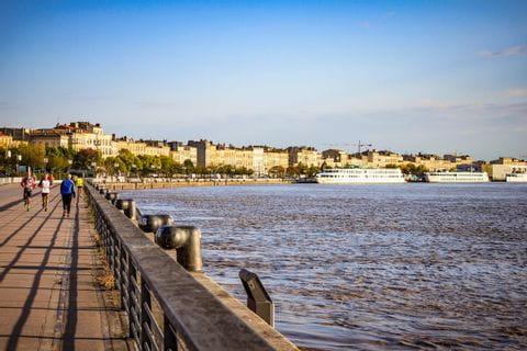Blick auf Bordeaux