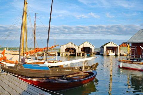 Hafen in Finnland