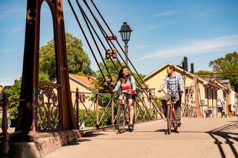 Brücke bei Uppsala