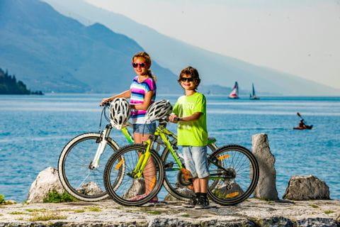 Kinder am Gardasee