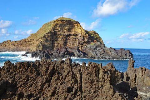 Lava-Felsen bei Porto Moniz