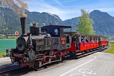 Die Zahnradbahn am Achensee
