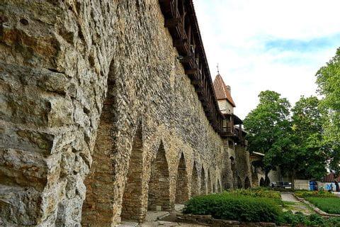 Alte Stadtmauer in Tallinn