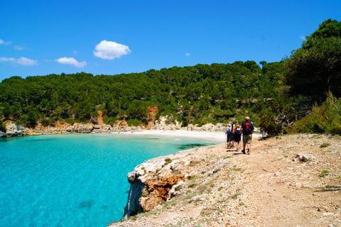 Küstenwege auf Menorca