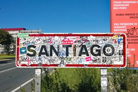 Wander- und Pilgerziel Santiago