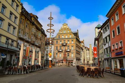 Stadtplatz in Konstanz