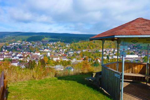 Beautiful panoramic view of Lenzkirch