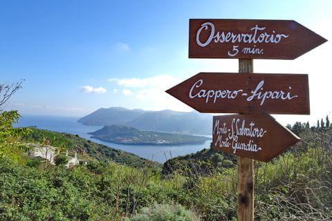 Atemberaubende Wanderwege auf der Insel Vulcano
