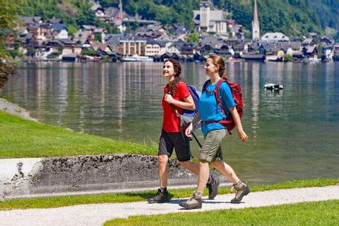 Genusswandern am Seeuferweg bei Hallstatt