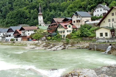 Wanderungen entlang der Traun bei Bad Goisern