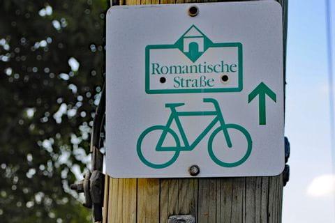 Radweg Schild