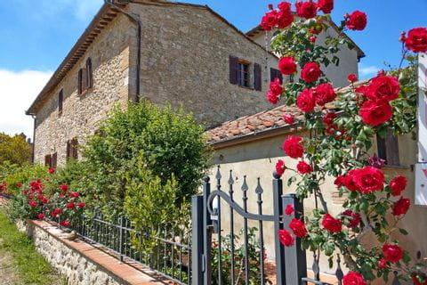 Toskanisches Haus mit bezauberndem Garten in San Gimignano