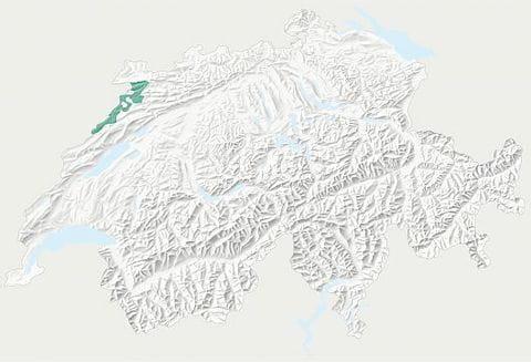 Karte Parc du Doubs