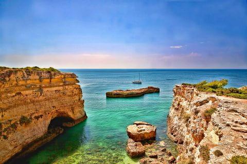 Wunderschöne Bucht an der Felsalgarve