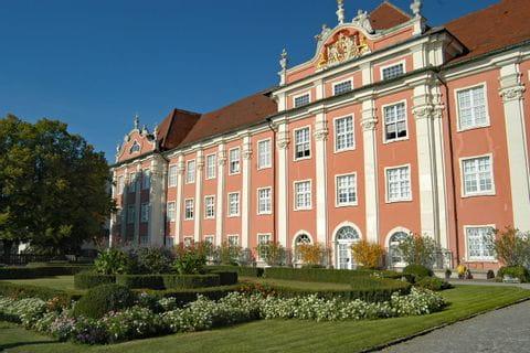 Blick auf Schloss Meersburg am Bodensee