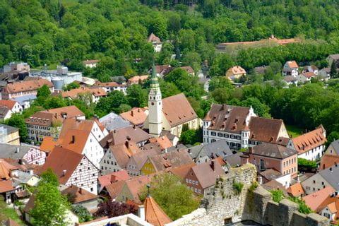 Liebliche Dörfer im Naturpark Altmühltal