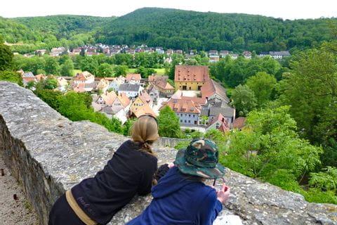 Ausblick von der Burg Pappenheim