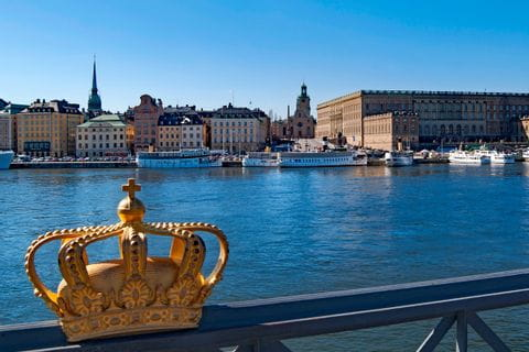 Kings's Palace in Stockholm