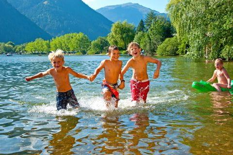 Badespaß im Zeller See Maishofen