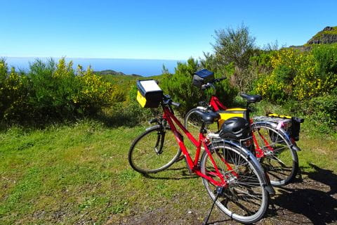 Bikes on high plateau