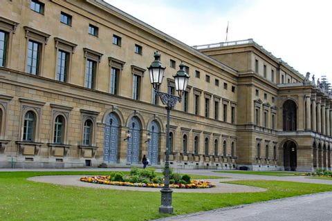 Der Hofgarten in München