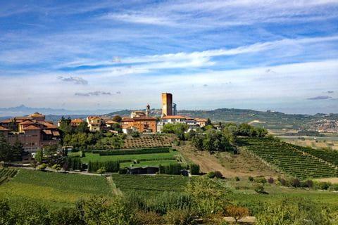 Blick in das Piemont