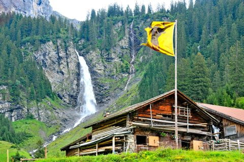 Wonder of nature in the Canton of Uri