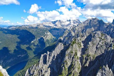 Spektakuläre Gipfelwanderungen im Dachstein Gebiet