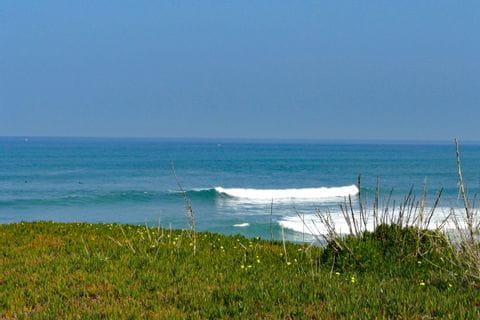 Ausblick auf das Meer in Portugal