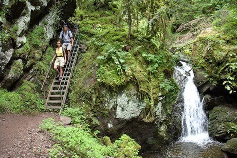Bezaubernder Wasserfall im Schwarzwald