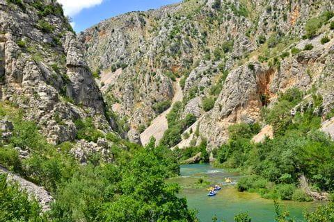 Paddelabenteuer in Dalmatien