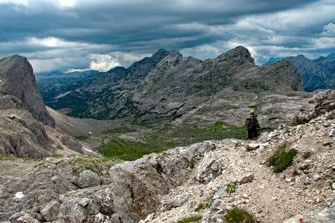 Grandiose Aussichten am Höhenweg